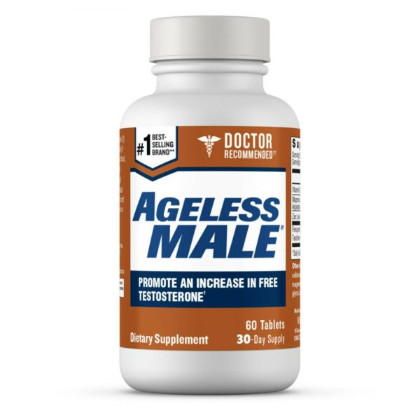 Ageless Male Free Testosterone Booster by New Vitality - NEW - 60 Tablets 7