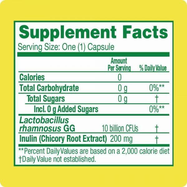 BULKPROBIOTICS Culturelle Daily Probiotic 60 Capsules VEGAN 1