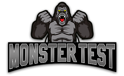 Testosterone Booster Monster Test with Tribulus for Men + Monster Test PM 2 Pack 5