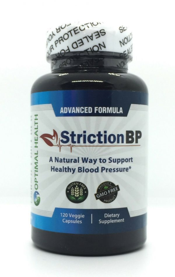 Striction BP Advanced Formula Support Healthy Blood Pressure StrictionBP NEW