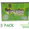 3 PACK!!! DIET MASTER 90 CAPSULES TOTAL 100% UNIQUE & ORIGINAL UNISEX D MASTER
