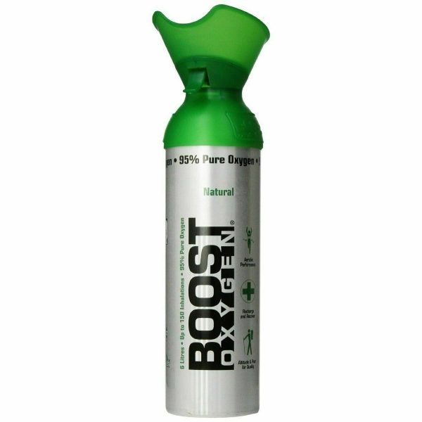 BOOST OXYGEN NATURAL ENERGY BOOSTER IN A CAN 22 OZ