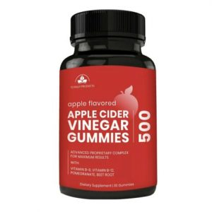 Apple Cider Vinegar Gummies  With Vit B6, B12, Pomegranate, Beet Root..non GMO