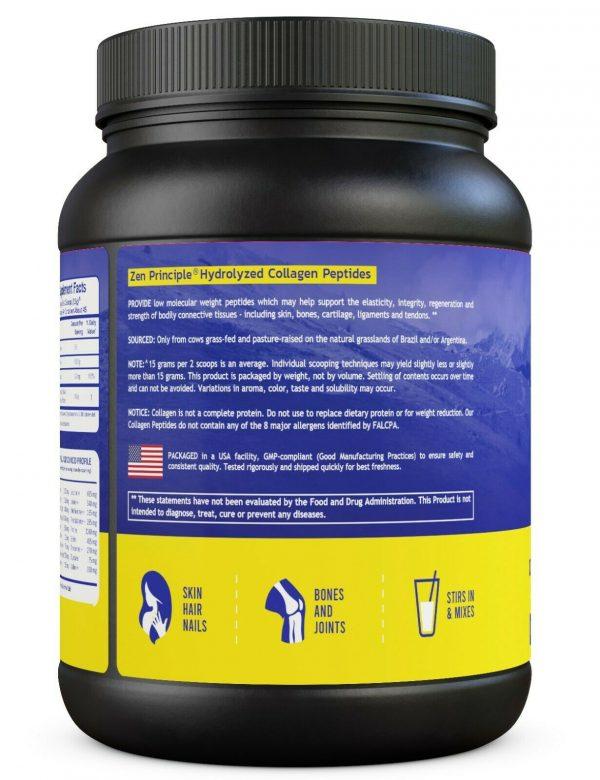 Grass-Fed Collagen Peptides Hydrolyzed 1.5 lb  2