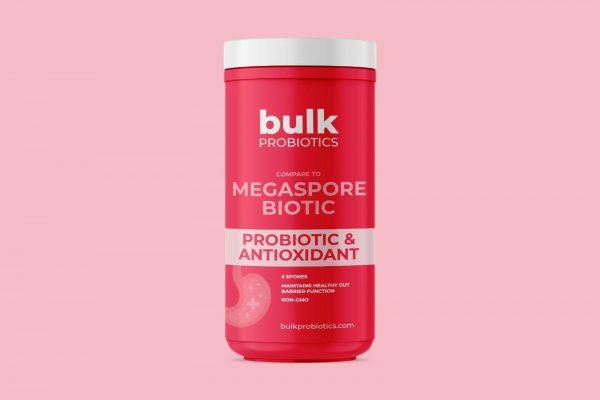 BULKPROBIOTICS MegaSporeBiotic Probiotic 60 capsules VEGAN 2