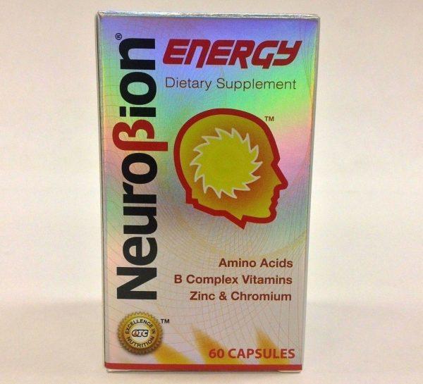 2 BOTTLES OF NEUROBION ENERGY 60 CAPSULES 2