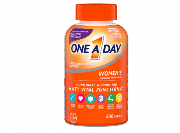 One A Day Women's Health Formula Multivitamin with More 200 Tablets Exp 03/2022