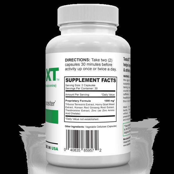 Testosterone Booster Male Performance Testo Boost Tribulus 1000mg Energy Pills 2