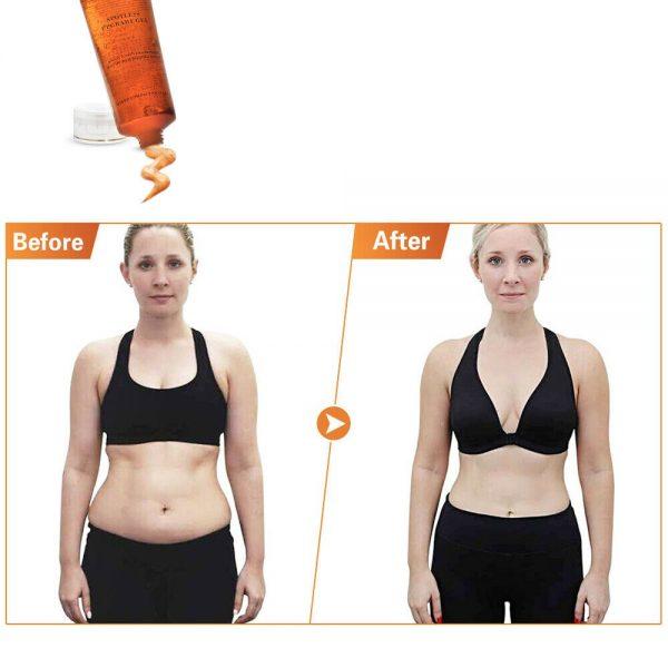 1-5 Fat Burning Gel Ultrasonic Massage Gel RF Cavitation Body Slimming Hot Cream 4