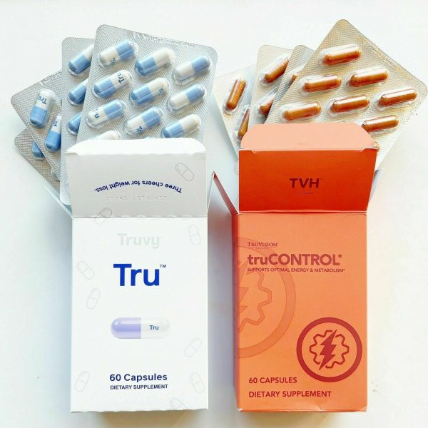 TruVision Health Tru and TruControl Weight Loss Combo 1 Month (30 Day) Supply 2