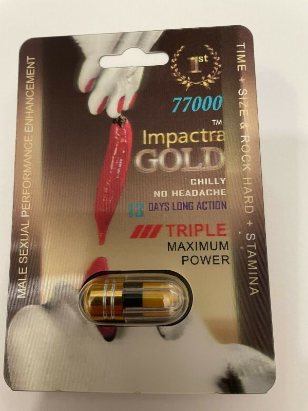 Impactra GOLD 77000, 5 pack