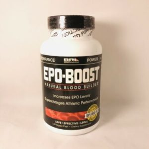 EPO-BOOST - Natural Blood Builder - 120 CAPS -Fast Free Shipping!!!