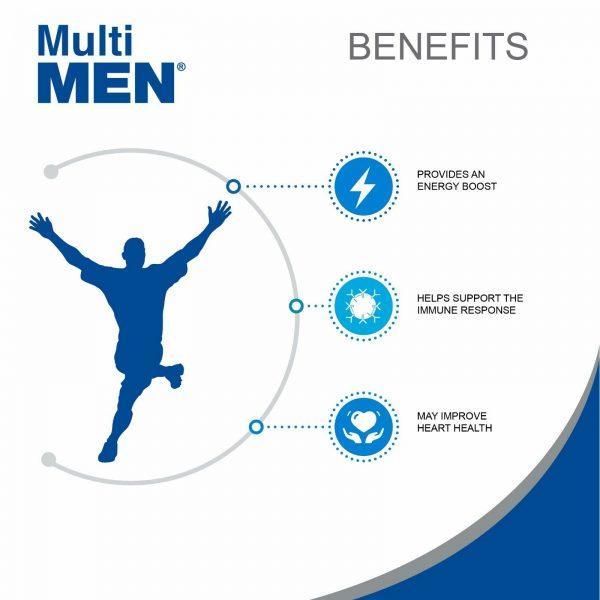 Multi Men / Vitamins and Minerals. Antioxidant. Immune System Support 5