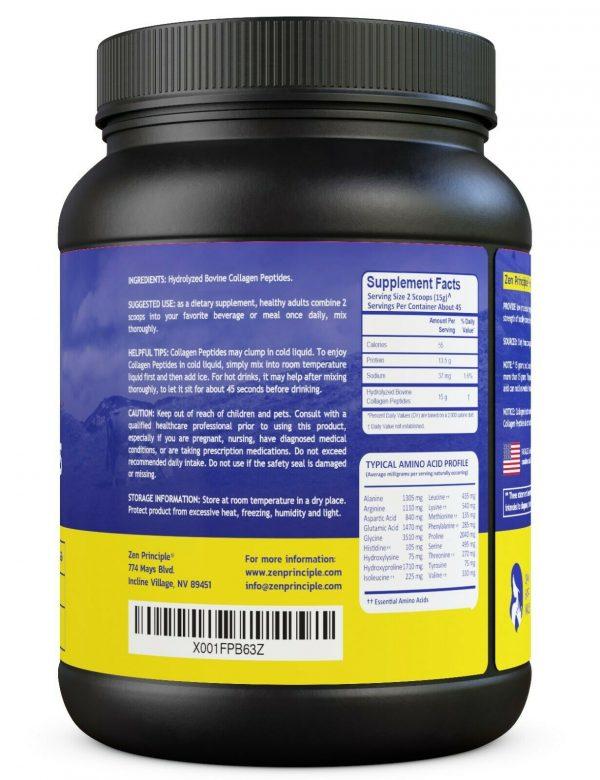 Grass-Fed Collagen Peptides Hydrolyzed 1.5 lb  1
