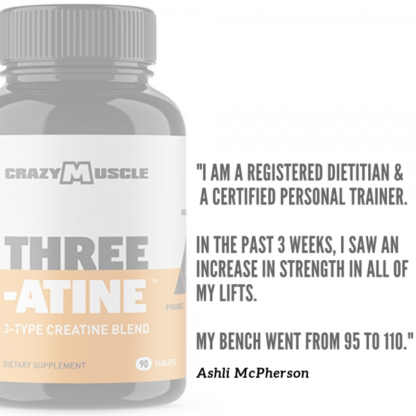 Crazy Muscle® Creatine Monohydrate Pills: [PROVEN] Muscle Building Supplement ✅✅ 7