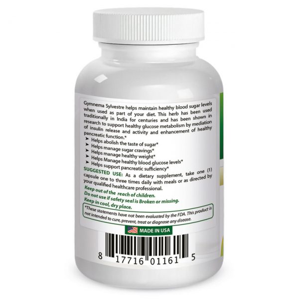 Best Naturals, Gymnema Sylvestre 500 mg 120 Caps *Manages Sugar Cravings* 1