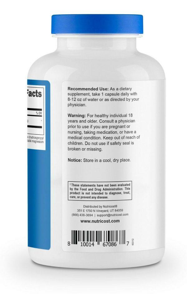 Nutricost Boron Capsules 5mg Per Serving (240 Vegetarian Capsules) 2