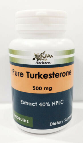 500mg x 100caps TURKESTERONE 40% HPLC EXTRACT, MUSCLE GAIN