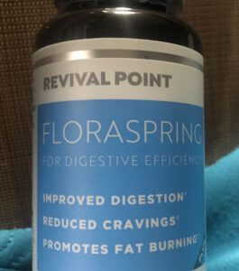 ***Revival Point Floraspring for Digestive Efficiency 30 Capsules -  Exp 11/2023