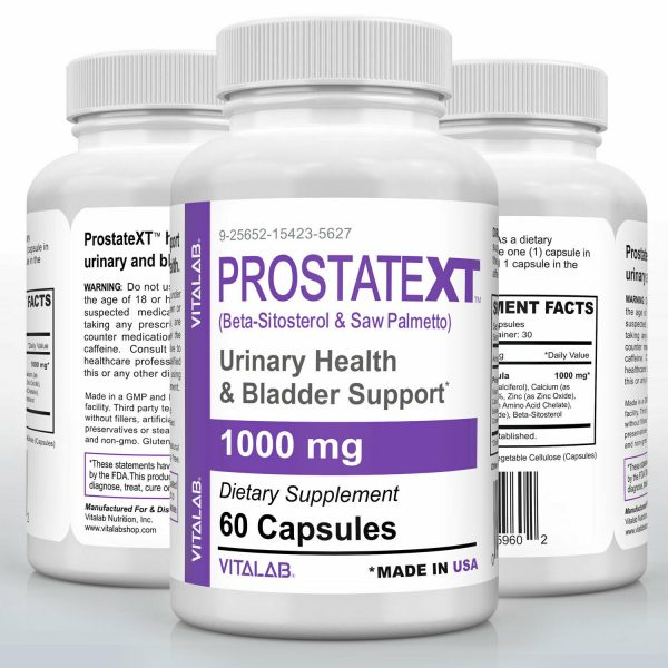 Prostate Support Urinary Health Bladder Beta Sitosterol Prostate Supplement 60ct 4