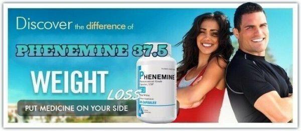 1 CT Phenemine Strong Best 37.5 375 Slimming Diet Pills  Adipex 37.5 P That Work 5