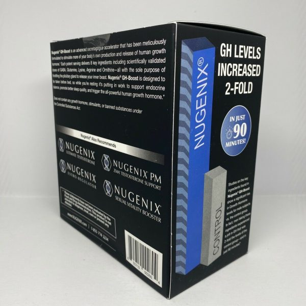 Nugenix GH Boost Tea Berry Blast 30 Pack Free Shipping  1