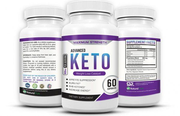 Shark Tank Advanced Keto Burn Fat Burner With BHB Slimming Diet Pills That Work