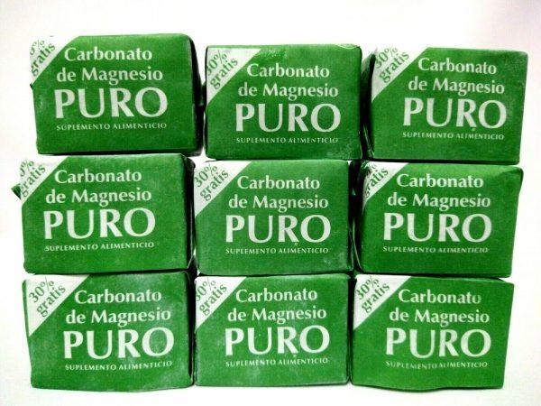 9 Carbonato De Magnesio Puro  Cubo / Magnesium Carbonate Cube