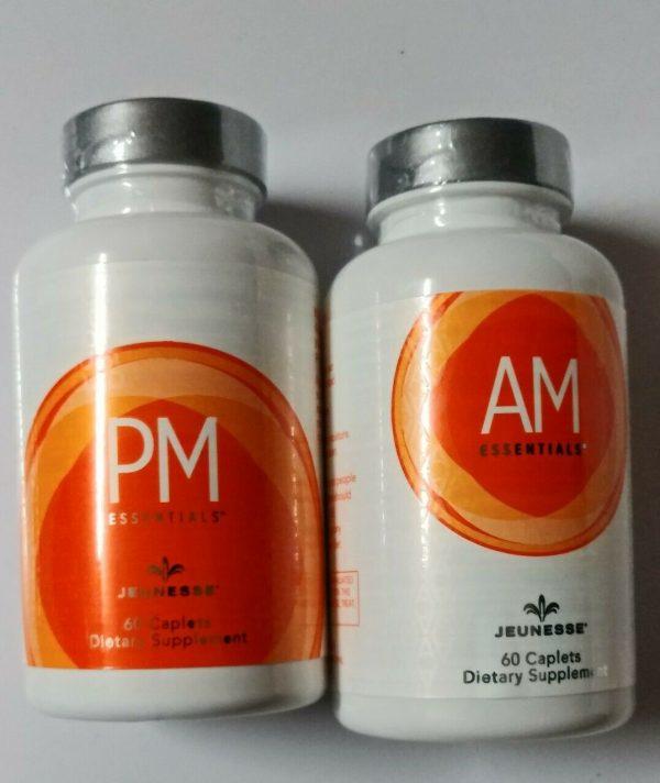 Jeunesse AM & PM Essentials 1 set (2 Bottles) Nutrigen multivitamin EXP 08/2022 1