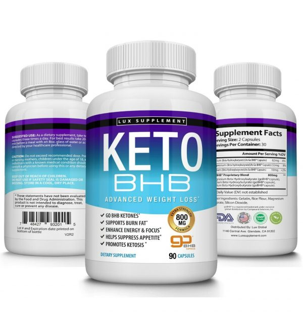 Ultra Fast Keto Diet Pills BHB 1200 MG Weight Loss 180 CAPSULE Ketogenic Burner 3