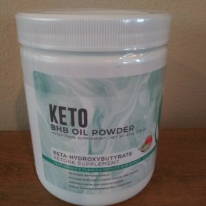 NEW KETO BHB OIL POWDER STRAWBERRY KIWI FLAVOR Ketone Supplement BY FITORU