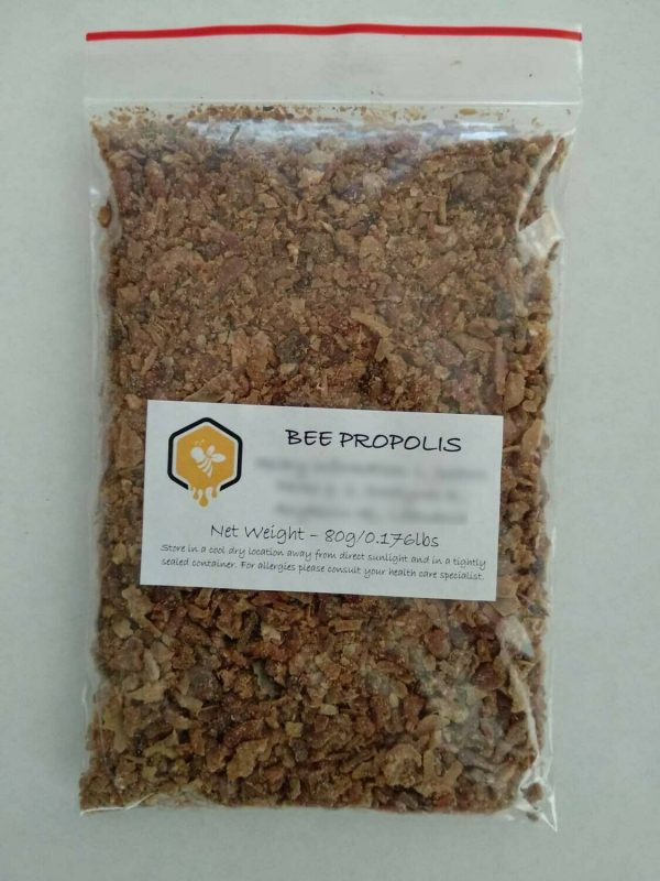 RAW BEE PROPOLIS, 100% NATURAL, 80g-1800g, 2020 harvest, non-GMO, free shipping