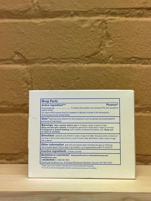 Oscillococcinum Flu-Like Symptoms - 0.04 oz - 30 Quick dissolving pellets 12/23+ 1