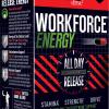 WORKFORCE Energy Supplement KSM-66 Ashwagandha ZumXR Caffeine Zinc Immune 4/2021