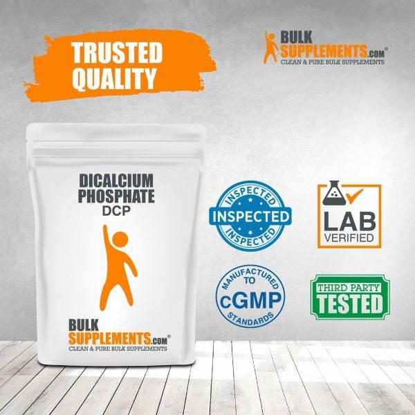 BulkSupplements.com Dicalcium Phosphate (DCP) 10