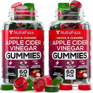 (2 Pack) Apple Cider Vinegar Gummies for Immune Support,Detox NEW