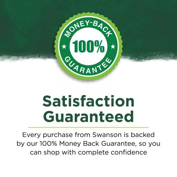 Swanson Gaba 500 mg 100 Capsules 3