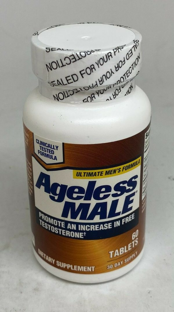 New Vitality Ageless Male Testosterone Booster - 60 Tablets