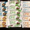 48 Assorted Flavor - One 1 Brand ONE 20g Protein Bar GF 1g Sugar