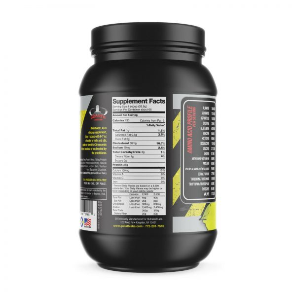 Colossal labs Whey Protein Powder 5lbs Monster Muscle isolate/blend 68 servings 6