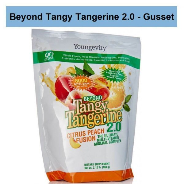 Beyond Tangy Tangerine 2.0 - Peach Citrus Fusion Gusset Youngevity BTT