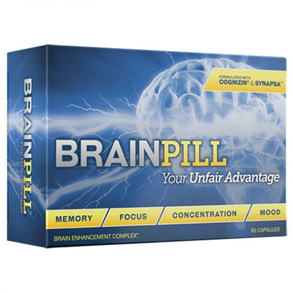BRAINPILL Nootropics Focus Faster Memory Mental Stamina Brain Pill Supplement  2