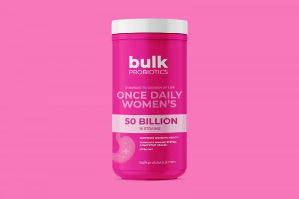 BULKPROBIOTICS Garden of Life Women's Probiotic 50 Billion CFU 30 Capsules VEGAN 2
