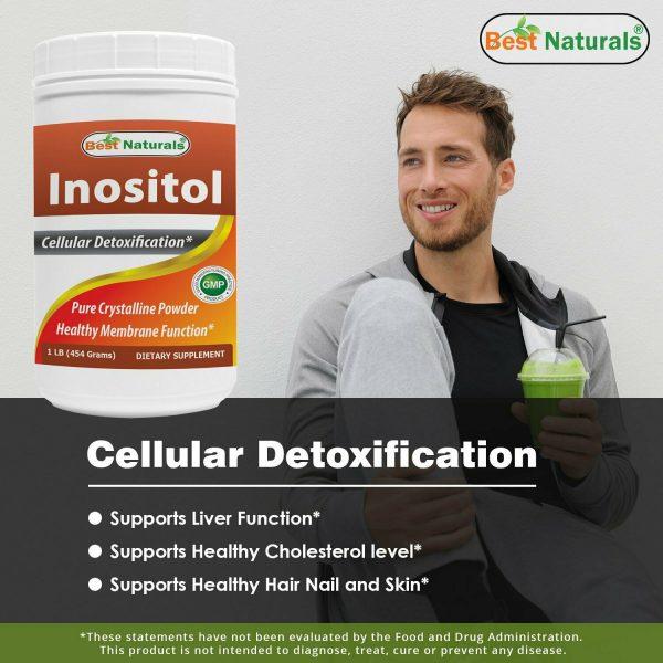 Best Naturals Inositol Pure Powder 1 Pound 1
