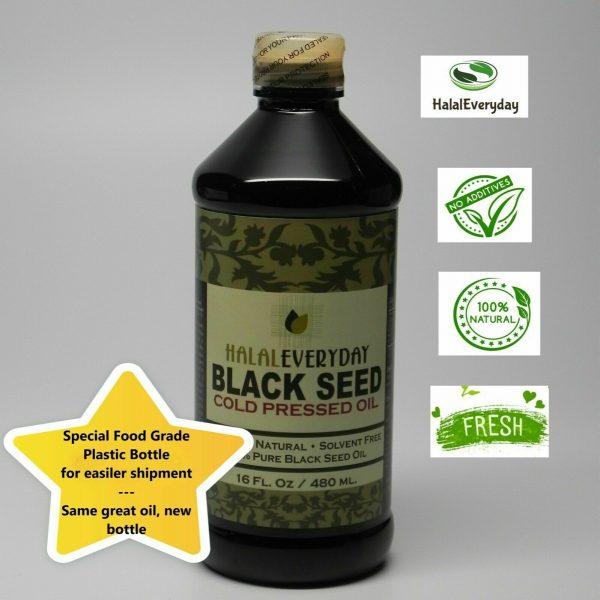 Black Seed Oil - 100% Pure Organic COLD PRESSED Cumin Nigella Sativa Unrefined 3