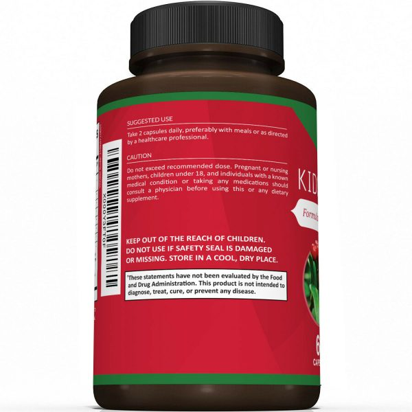 Kidney Cleanse Supplement-Kidney Support Formula With Cranberry - 60 Capsules 2