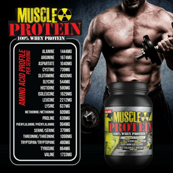 Colossal labs Whey Protein powder 10LB Monster Muscle isolate/blend 136 servings 1