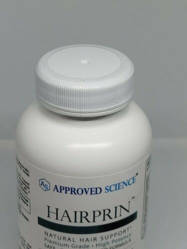 Approved Science Hairprin Natural Hair Support Supplement 60 Capsules New 09/23 3
