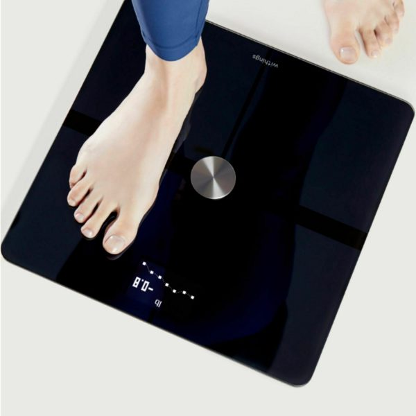 Withings - Body+ Body Composition Smart Wi-Fi Scale - Black 3
