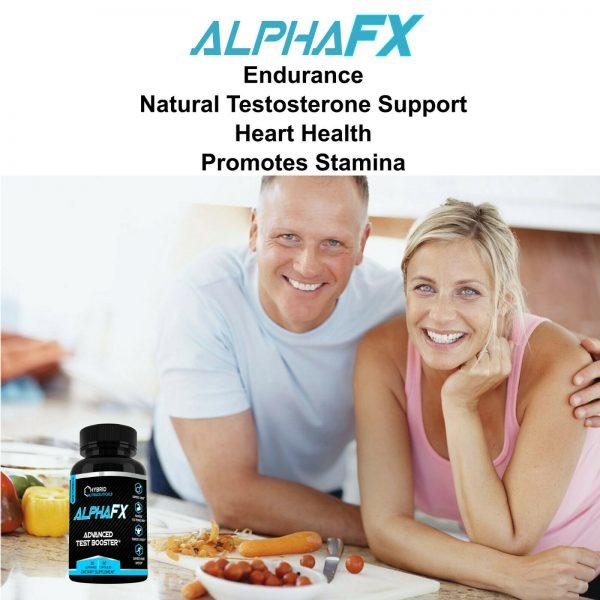 AlphaFX Testosterone Booster, Estrogen Blocker, Horny Goat Weed, Tribulus 4